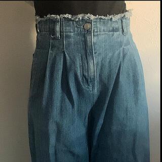 オリーブデオリーブ(OLIVEdesOLIVE)のハイウエストパンツ ストレートジーンズ  レディースファッション(デニム/ジーンズ)