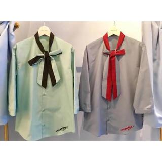 ミルクボーイ(MILKBOY)のMILKBOY リボンシャツ 2018aw(シャツ/ブラウス(長袖/七分))