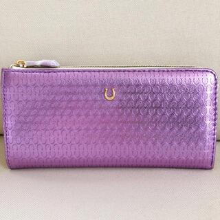 【金運】九紫火星*長財布【新品未使用】紫(財布)