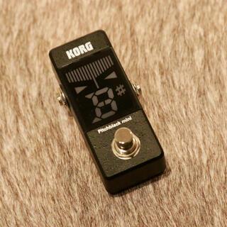 コルグ(KORG)の【送料込み】KORG PB pitchblack mini チューナー(エフェクター)