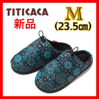チチカカ(titicaca)のキルティングサンダル モザイクタイル 23.5cm チチカカ TITICACA(サンダル)