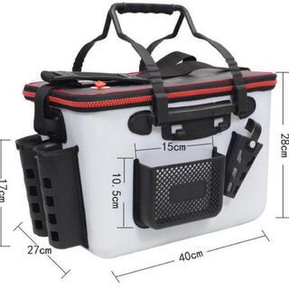 EVA タックルバッグ キーパーバッカン フィッシュキープ 収納ポケット付き(釣り糸/ライン)