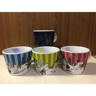 送料込【匿名発送】ムーミン ケンタッキー マグカップ 全4種類セット(グラス/カップ)