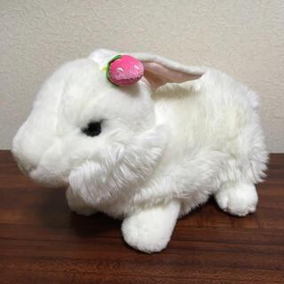 アウロラ(AURORA)のAURORA 白ウサギのぬいぐるみ 中古品(ぬいぐるみ)