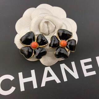 シャネル(CHANEL)の売切り値下げバブル期傑作!ヴィンテージ シャネル グリポア フラワー イヤリング(イヤリング)