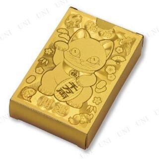 招き猫 ゴールド トランプ 金色 ネコ ねこ トランプカード(トランプ/UNO)