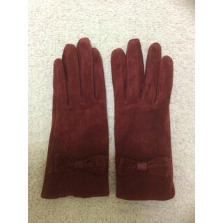UNITED ARROWS - 新品未使用 ユナイテッドアローズ スウェード素材 レディース手袋 スマホ対応