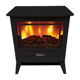 Dimplex 電気暖炉 Tiny stove TNY12J/ブラック(電気ヒーター)