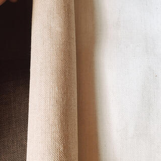 【新品未使用】規格外ロール生成キャンバス 2点(ボードキャンバス)