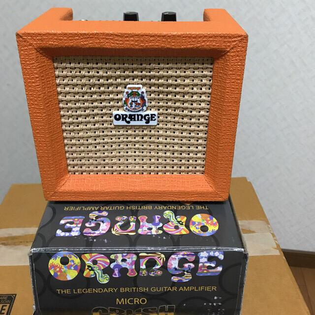 Orange bonbon(オレンジボンボン)のオレンジORANGE. CRUSH P.X  ミニギターアンプ 3W 楽器のギター(エレキギター)の商品写真