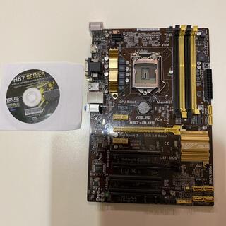 エイスース(ASUS)のASUS H87-PULUSマザーボード(PCパーツ)
