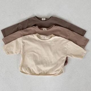 フタフタ(futafuta)の最終値下げフォロー割あり 韓国子供服 ベビー 80 90 100 即納(Tシャツ)