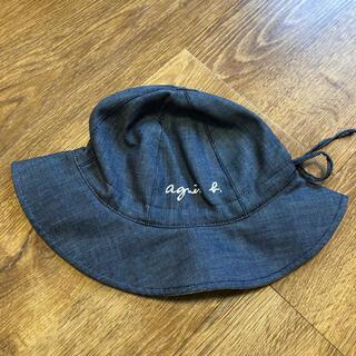agnes b. - 最終価格【新品タグ付き】agnes b. アニエスベー リバーシブル ロゴ 帽子