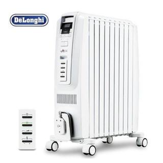 デロンギ(DeLonghi)の新品未使用デロンギオイルヒーター ドラゴンデジタル DDQ0915-WH(オイルヒーター)