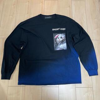 ミルクボーイ(MILKBOY)のMILKBOY BUNNY L.S. Tシャツ ブラック(Tシャツ/カットソー(七分/長袖))