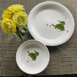 ニッコー(NIKKO)のaccototo子供皿2枚(食器)