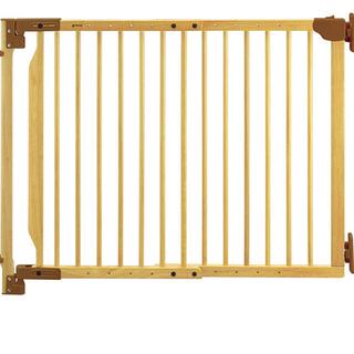 リッチェル(Richell)のリッチェル Richell 階段の上でも使える木のバリアフリーゲート(ベビーフェンス/ゲート)