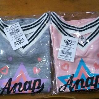 アナップキッズ(ANAP Kids)のANAP  KIDS     ラインリブ裾フレアワンピース(ワンピース)