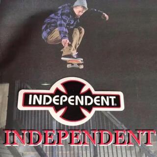 インディペンデント(INDEPENDENT)のINDEPENDENTインディー US限定 アイコンロゴ ステッカー ラス2(スケートボード)
