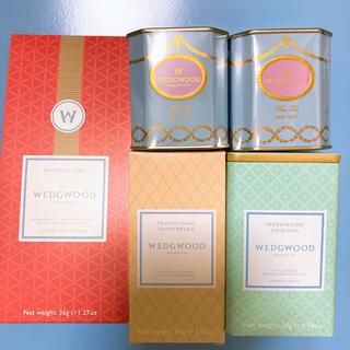 ウェッジウッド(WEDGWOOD)のウェッジウッド ティータイムセット 紅茶 アールグレイ コーヒー ブレッド(茶)