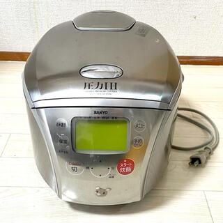 サンヨー(SANYO)の10合炊き 炊飯器 サンヨー sanyo 動作未確認 中古(炊飯器)