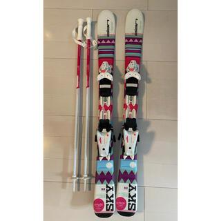 エラン(Elan)のエラン 子供用スキー板&ストック elan キッズスキー板100cm(板)
