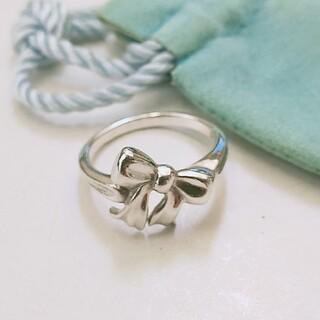 ティファニー(Tiffany & Co.)のココイチ様専用 ティファニー リボンリング 10号(リング(指輪))