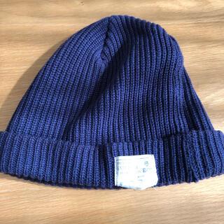 ジーアールエヌ(grn)のニット帽(ニット帽/ビーニー)