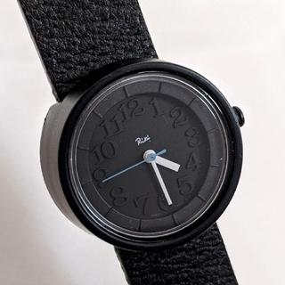 アルバ(ALBA)の リキワタナベ ★ 腕時計 ブラック ユニセックス「 Riki 小さな腕時計」 (腕時計)
