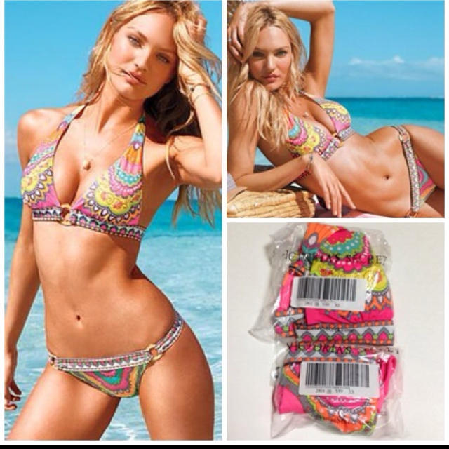 Victoria's Secret(ヴィクトリアズシークレット)の新品 ヴィクシー ビキニ セット 水着 レディースの水着