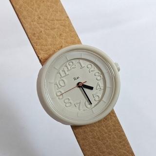 アルバ(ALBA)のリキワタナベ ★ 腕時計 ベージュ ユニセックス 「 Riki 小さな腕時計 」(腕時計)