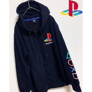 プレイステーション(PlayStation)の【PLAY STATION 】プレイステーション ジップパーカー   プレステ(パーカー)