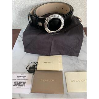 ブルガリ(BVLGARI)の限定ブルガリ ベルト メンズ BVLGARI 26312 ブラック 110cm(ベルト)