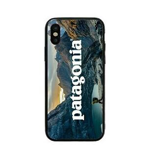 パタゴニア(patagonia)のパタゴニア ガラスケース iPhoneケース jgzxek(iPhoneケース)