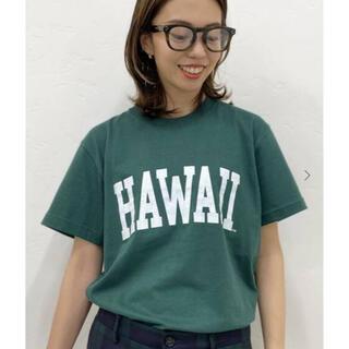 ドゥーズィエムクラス(DEUXIEME CLASSE)の新品タグ付⭐️GOOD ROCK SPEED HAWAII Tシャツ(Tシャツ(半袖/袖なし))