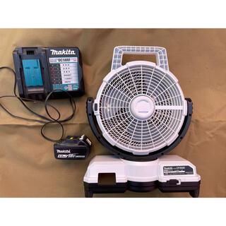 マキタ(Makita)のマキタ CF203DZ (青) 18V充電式ファン バッテリーセット(扇風機)