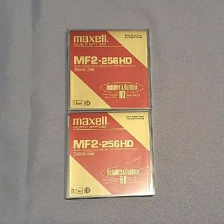マクセル(maxell)のmaxell フロッピーディスク2枚(PC周辺機器)