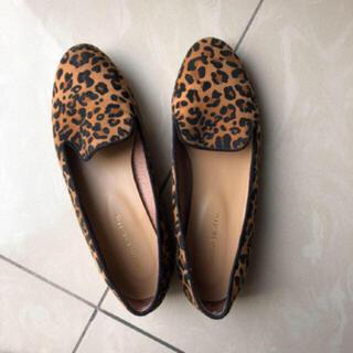 オリエンタルトラフィック(ORiental TRaffic)の売り切り‼️レオパード 靴(スリッポン/モカシン)