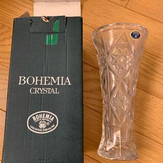 ボヘミア クリスタル(BOHEMIA Cristal)の新品 ボヘミアンガラス 花瓶(花瓶)