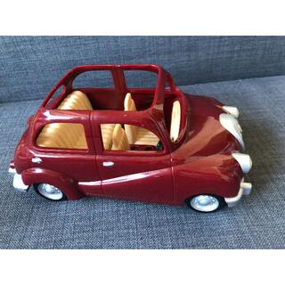 エポック(EPOCH)のシルバニアファミリー 赤い車(ぬいぐるみ/人形)