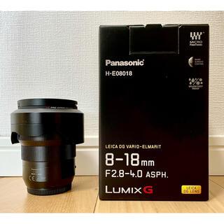 ライカ(LEICA)の【ほぼ新品】LUMIX LEICA  8-18mm F2.8-4.0 ASPH.(レンズ(ズーム))