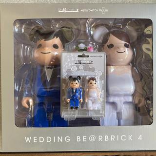 メディコムトイ(MEDICOM TOY)のBE@RBRICK グリーティング結婚 4 PLUS 400% 100% セット(その他)