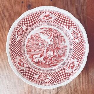 ウェッジウッド(WEDGWOOD)のイギリス William Adams & Sons アンティークプレートセット(食器)