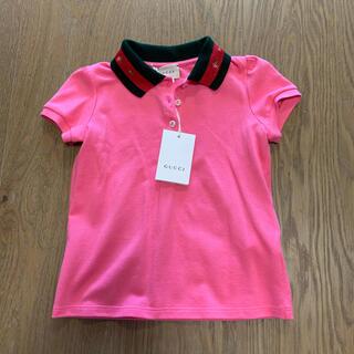 グッチ(Gucci)の新品gucci  キッズ polo ポロシャツ イタリア製(Tシャツ/カットソー)
