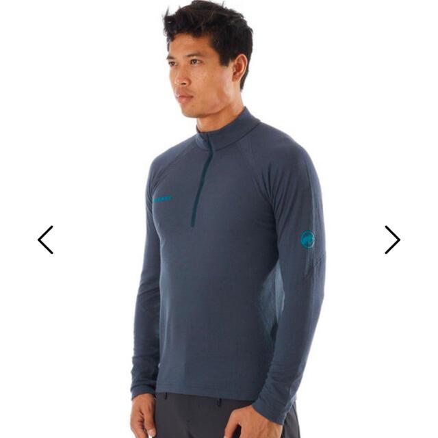 Mammut(マムート)のマムート PERFORMANCE Thermal Zip long Sleeve メンズのトップス(Tシャツ/カットソー(七分/長袖))の商品写真