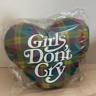 ジーディーシー(GDC)のgirl's don't cry 伊勢丹新宿 タータン クッション verdy(クッション)