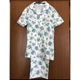 キッドブルー(KID BLUE)のKID BLUE  キッドブルー  半袖 花柄 パジャマ コットン100% 新品(パジャマ)