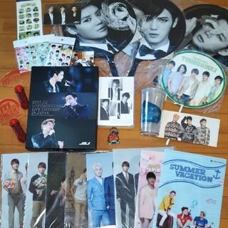 JYJ DVD、クリアファイル、シール、非売品グッズ等まとめて(キャラクターグッズ)