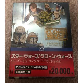 スターウォーズ クローンウォーズ DVD Blu-ray(アニメ)