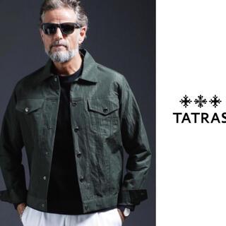 タトラス(TATRAS)のTATRAS×nano・universe 別注Ficus Gジャン グリーン(Gジャン/デニムジャケット)